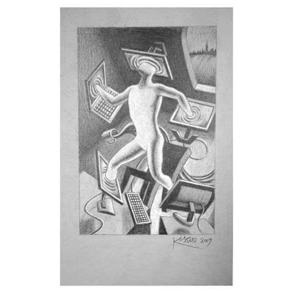 The Illusion of Options by Kostabi Original