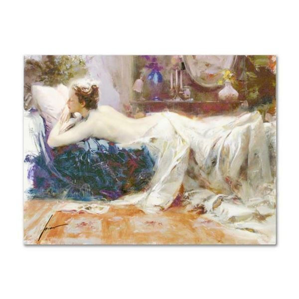 """Pino (1939-2010), """"Mystic Dreams"""" Artist Embellished Limited Edition on Canvas ("""
