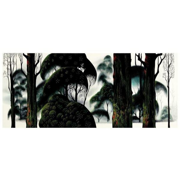 """Eyvind Earle (1916-2000), """"Forest Magic"""" Limited Edition Serigraph on Paper; Num"""
