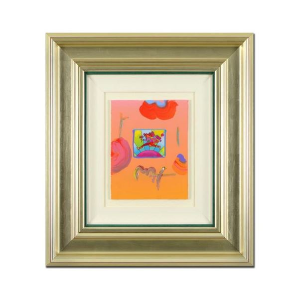 Flower Jumper Over Sunrise by Peter Max