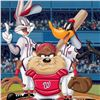 """Image 2 : """"At the Plate (Nationals)"""" Numbered Limited Edition Giclee from Warner Bros. wit"""