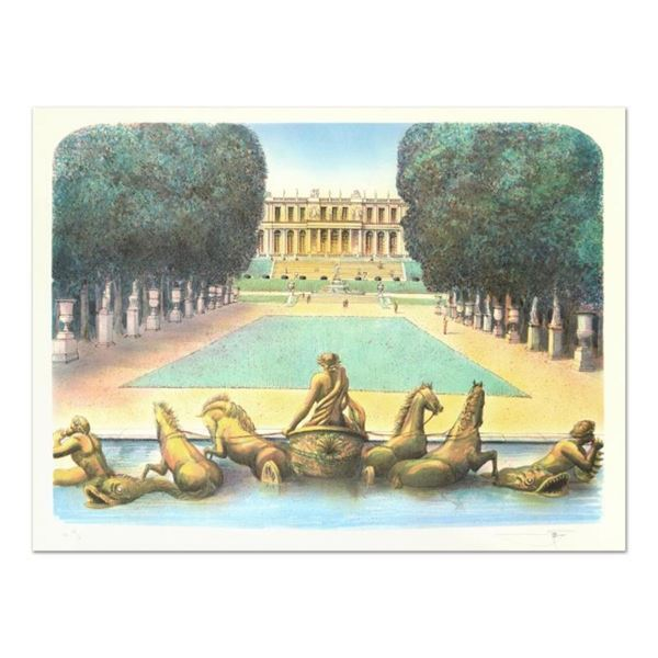 """Rolf Rafflewski, """"Chariot"""" Limited Edition Lithograph, Numbered and Hand Signed."""