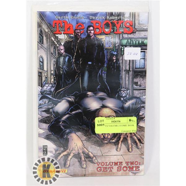 THE BOYS VOLUME 2 COMIC BOOK