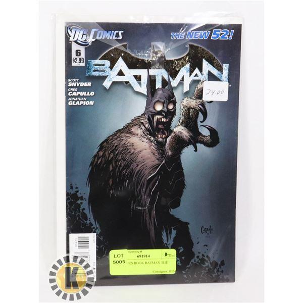 DC COMICS BOOK BATMAN THE NEW 52