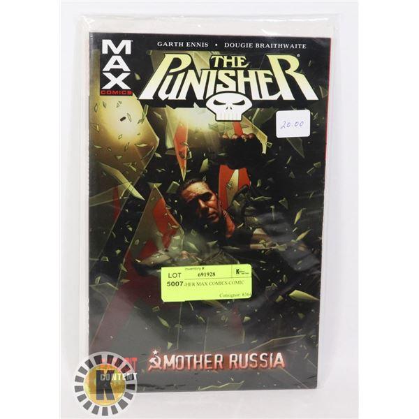 THE PUNISHER MAX COMICS COMIC BOOK