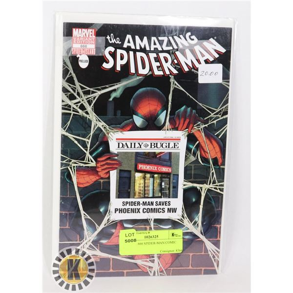 MARVEL 666 SPIDER-MAN COMIC BOOK