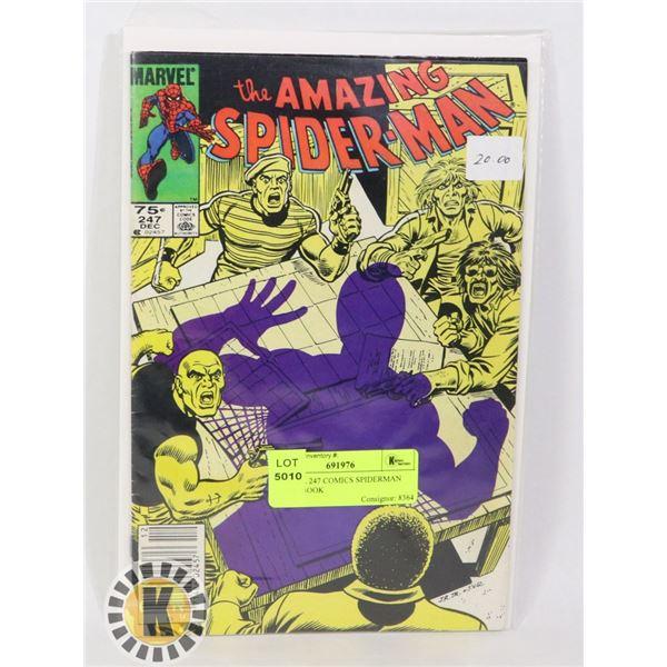 MARVEL 247 COMICS SPIDERMAN COMIC BOOK