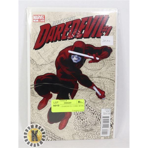 MARVEL 1 DAREDEVIL COMIC BOOK
