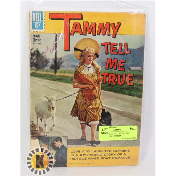 TAMMY TELL ME TRUE COMIC BOOK ARCHIE SERIES