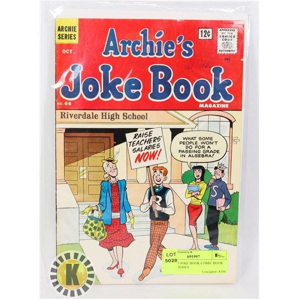ARCHIE'S JOKE BOOK COMIC BOOK ARCHIE SERIES
