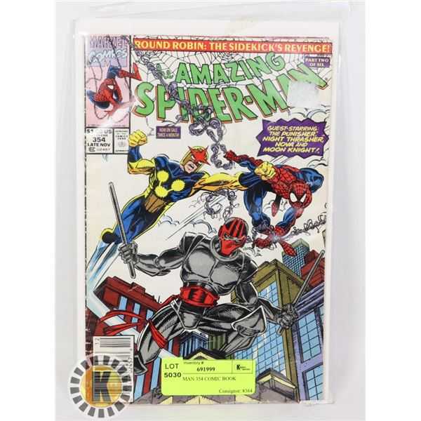 SPIDER-MAN 354 COMIC BOOK