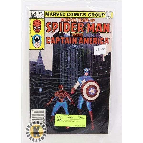SPIDER-MAN 128 COMIC BOOK