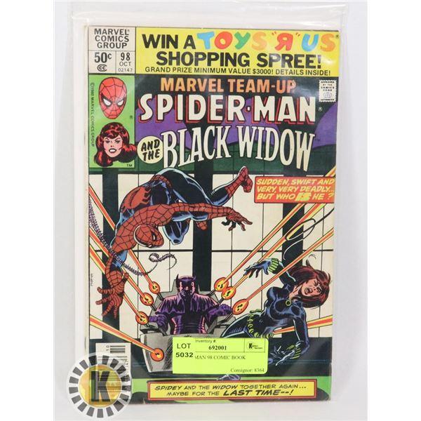 SPIDER-MAN 98 COMIC BOOK