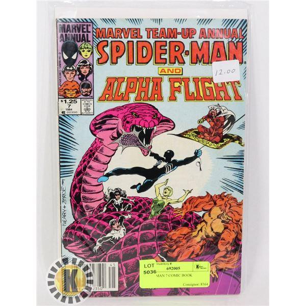 SPIDER-MAN 7 COMIC BOOK