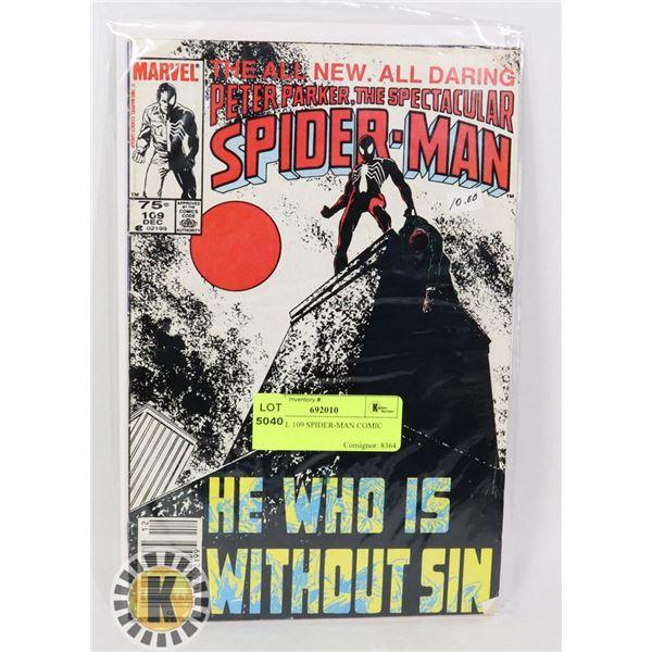 MARVEL 109 SPIDER-MAN COMIC BOOK