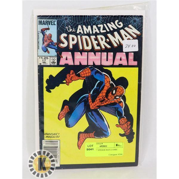 MARVEL 17 SPIDER-MAN COMIC BOOK