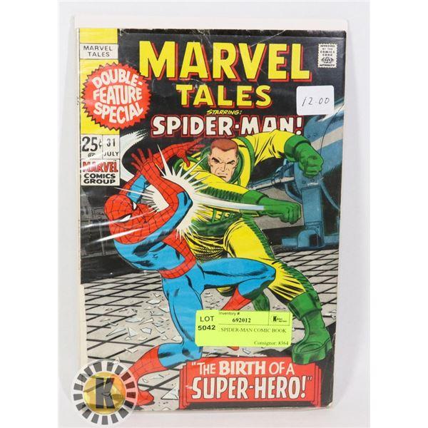 MARVEL SPIDER-MAN COMIC BOOK
