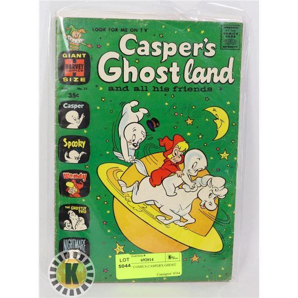 HARVEY COMICS CASPER'S GHOST LAND