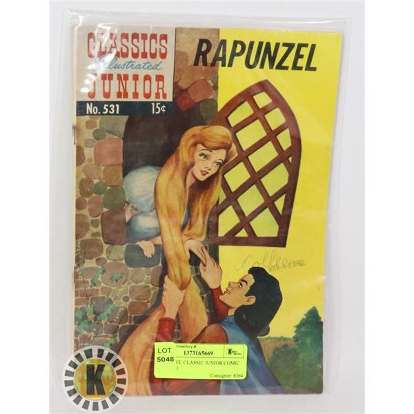 RAPUNZEL CLASSIC JUNIOR COMIC BOOK 531