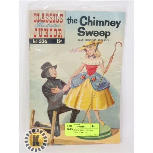 THE CHIMNEY SWEEP CLASSIC JUNIOR COMIC BOOK 536