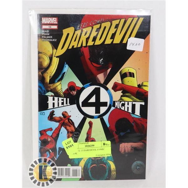 MARVEL 13 DAREDEVIL COMIC BOOK