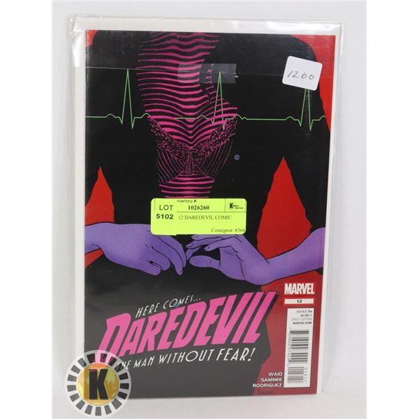 MARVEL 12 DAREDEVIL COMIC BOOK