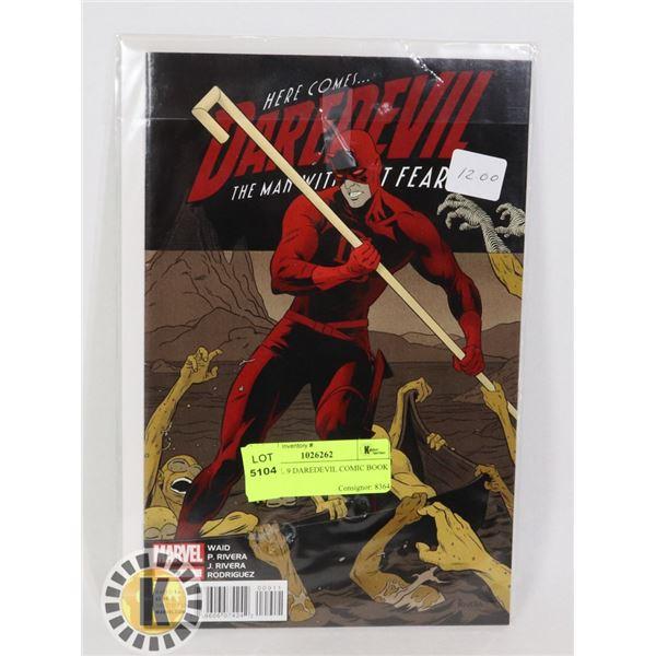 MARVEL 9 DAREDEVIL COMIC BOOK