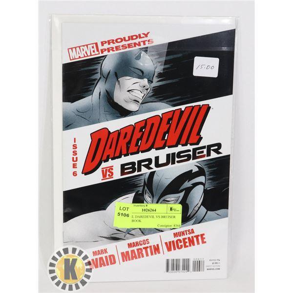 MARVEL DAREDEVIL VS BRUISER COMIC BOOK