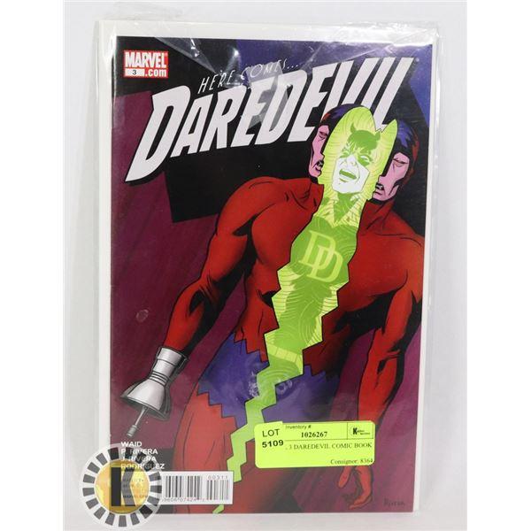 MARVEL 3 DAREDEVIL COMIC BOOK