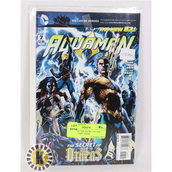 AQUAMAN THE SECRET OF THE OTHERS COMIC BOOK