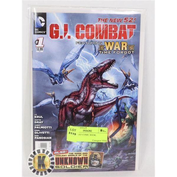 G.I. COMBAT COMIC BOOK