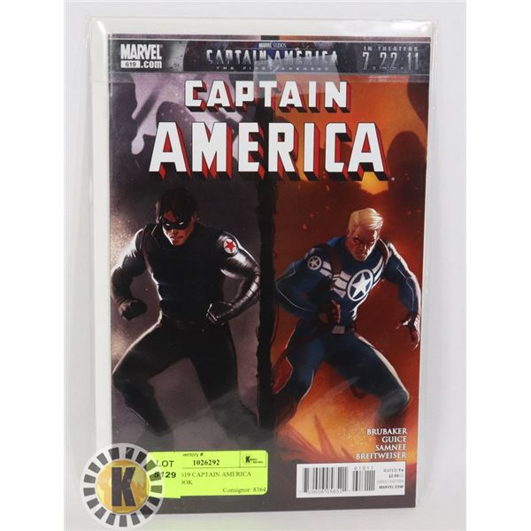 MARVEL 619 CAPTAIN AMERICA COMIC BOOK