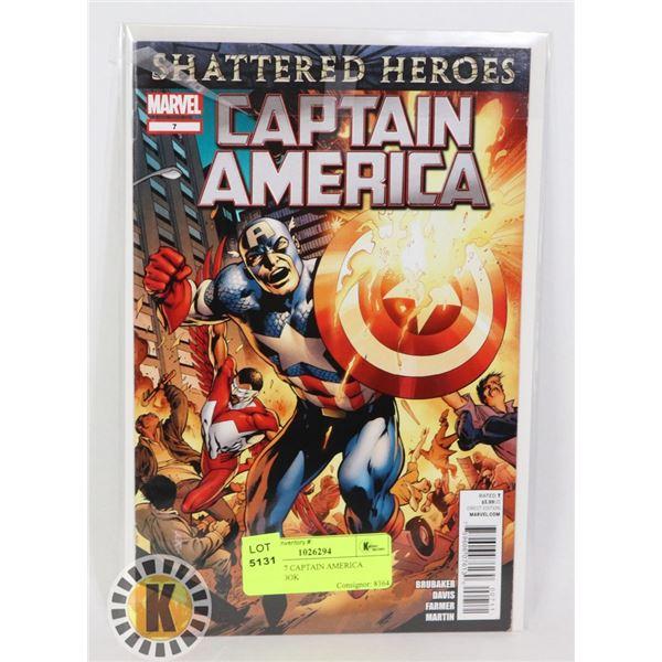 MARVEL 7 CAPTAIN AMERICA COMIC BOOK