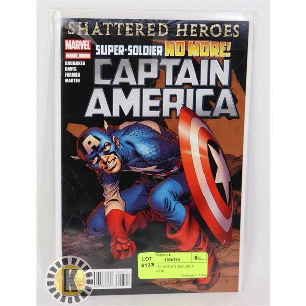 MARVEL 8 CAPTAIN AMERICA COMIC BOOK