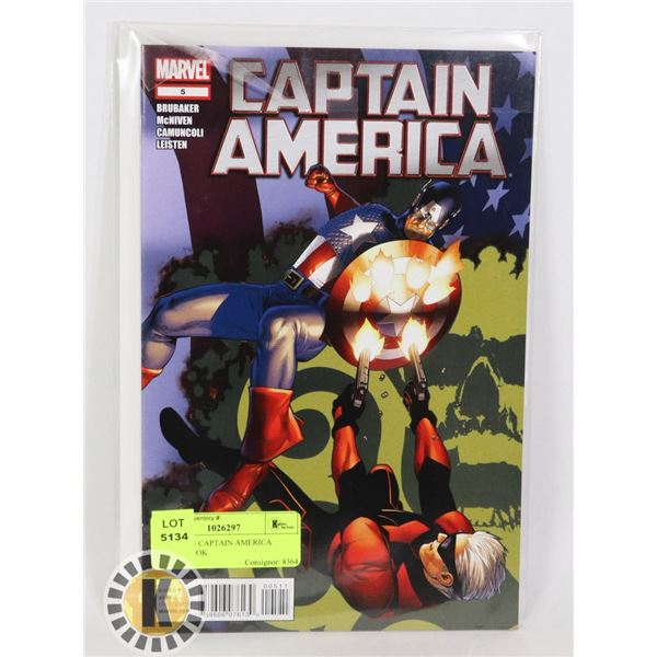 MARVEL 5 CAPTAIN AMERICA COMIC BOOK
