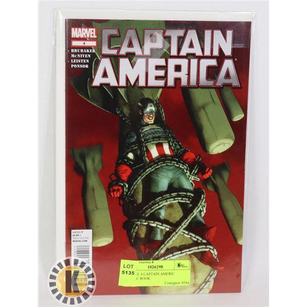 MARVEL 4 CAPTAIN AMERICA COMIC BOOK