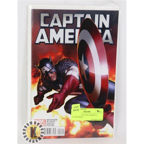 MARVEL 2 CAPTAIN AMERICA COMIC BOOK