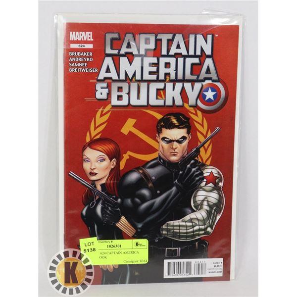 MARVEL 624 CAPTAIN AMERICA COMIC BOOK