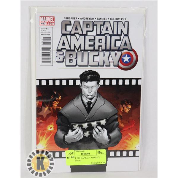 MARVEL 620 CAPTAIN AMERICA COMIC BOOK