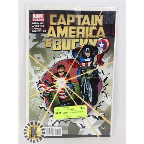 MARVEL 6218 CAPTAIN AMERICA COMIC BOOK