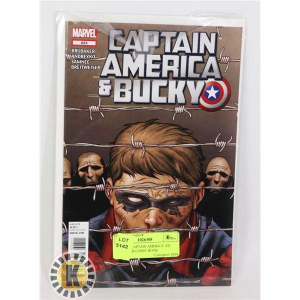 MARVEL CAPTAIN AMERICA  ED BRUBAKER COMIC BOOK