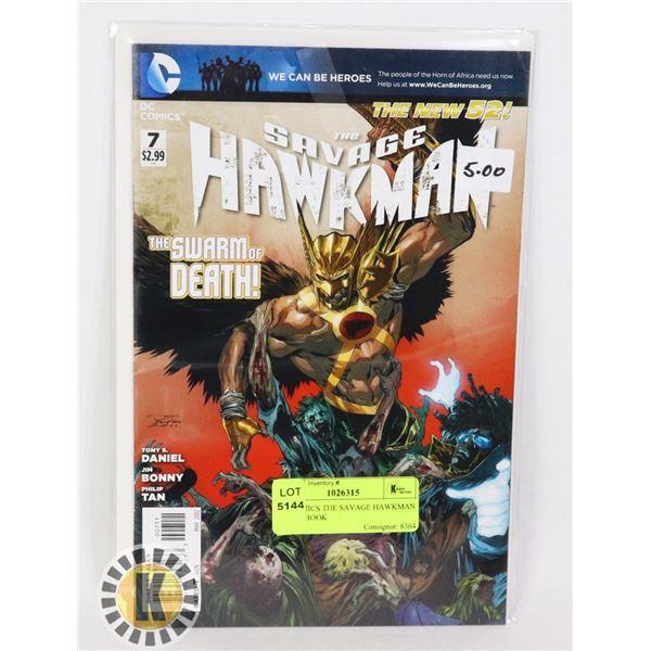 DC COMICS THE SAVAGE HAWKMAN COMIC BOOK