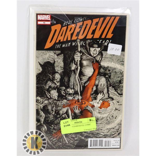 MARVEL 10 DAREDEVIL COMIC BOOK