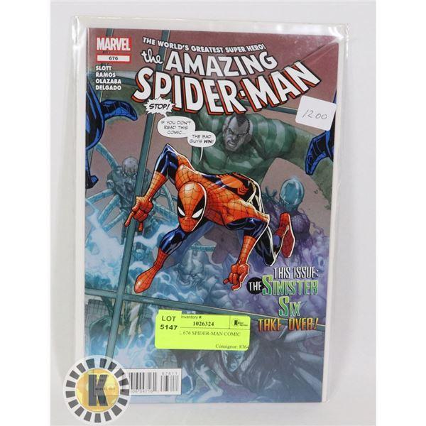 MARVEL 676 SPIDER-MAN COMIC BOOK