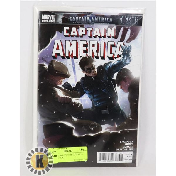 MARVEL 618 CAPTAIN AMERICA COMIC BOOK