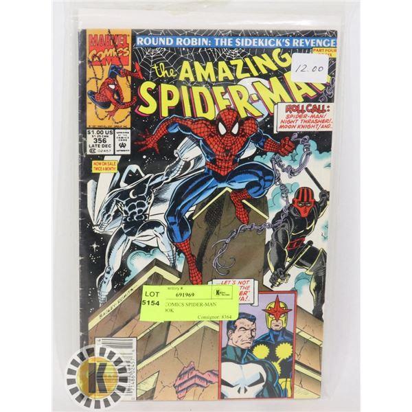 MARVEL COMICS SPIDER-MAN COMIC BOOK