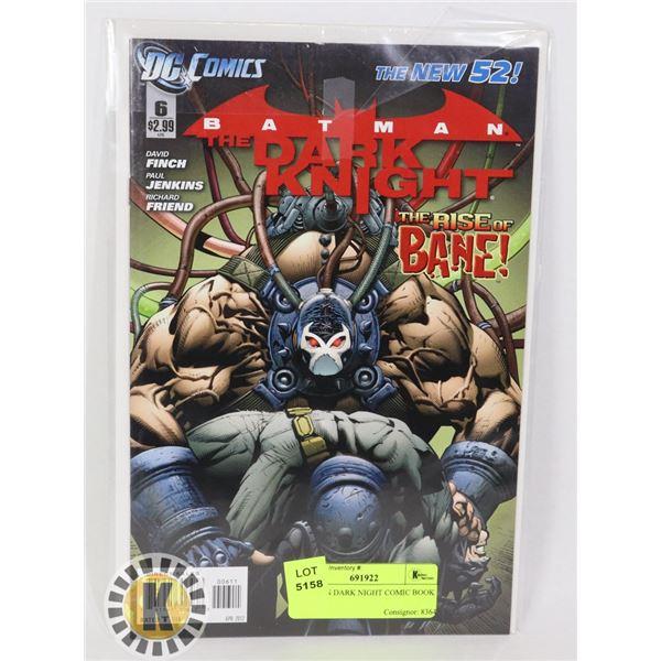 BATMAN DARK NIGHT COMIC BOOK