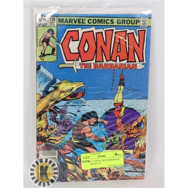 MARVEL CONAN THE BARBARIAN COMIC BOOK 138