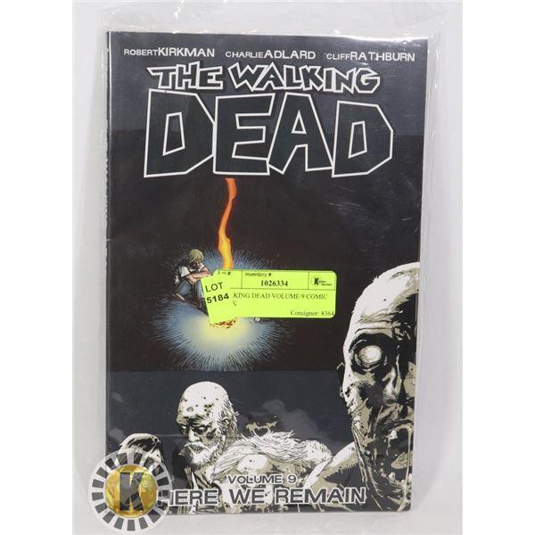 WALKING DEAD VOLUME 9 COMIC BOOK