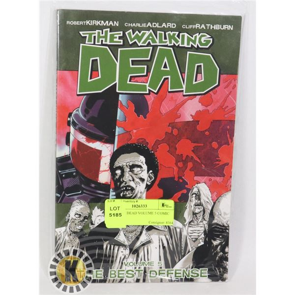 WALKING DEAD VOLUME 5 COMIC BOOK